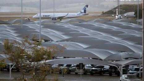 Aeroporto de BH inaugura estacionamento após reforma (MG)