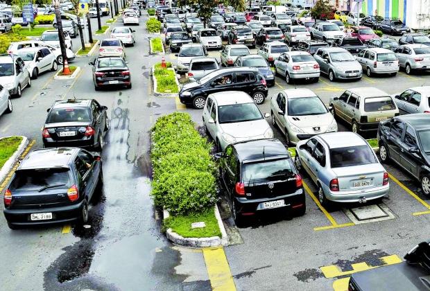 Pesquisa aponta aumento na frota de veículos
