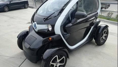 Renault Twizy será compartilhado em Brasília