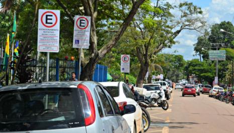 Zona Azul temporária de Florianópolis (SC)